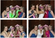 Photo Booth Stand: have your party as the back drop